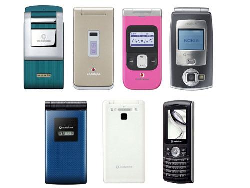 Vodafone:夏モデル(2006年)を発...